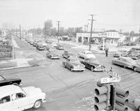Streets; Davison; Showing Traffic Jam.