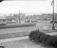 Streets; Davison; At Dexter; Looking East; Intersection Showing Traffic Running Both Ways To Left Of Street Car.