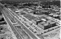 Michigan; Cities; Southfield; Aerials. 8 Mile Road looking West towards Southfield. See: Northland Center