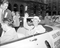 Stevenson, Adlai; Candidate for President 1952. -With Governor G. Mennen Williams