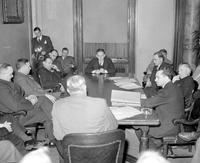 World; War; 2; Detroit; Meat Prices. Hearing before Mayor Jeffries.