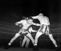 Boxing; Matches; George Burnette vs Joe Sutka.
