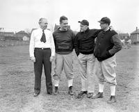 Colleges; University of Detroit; Football; Coaches. Michael H. Butler. Arthur Boeringer. Chas. E. Dorais. Lloyd Brazil.