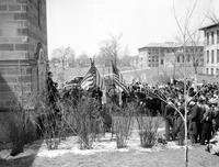 Colleges; University of Detroit; Students; Anti-War Meeting; Peace Strikers.