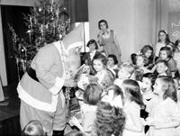 Christmas; Detroit; Santa Claus; With Children. Y. W. C. A. Christmas Party