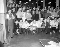 Strikes; Kelvinator Plant; Detroit. -Group Signing Strike Agreement