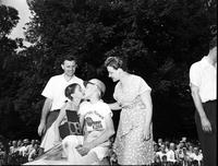 Soap Box Derby; Detroit News Contest; 1947. John P. Studicky Jr. , Winner.