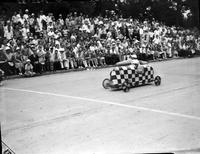 Soap Box Derby; Detroit News Contest; 1938. Jack Pennington, Winner.