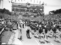 Soap Box Derby; National Contest; Akron; 1949. Fred Derks, Winner.