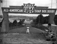 Soap Box Derby; National Contest; Akron; 1948.