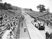 Soap Box Derby; National Contest; Akron; 1946. Gilbert Klecan, Winner.