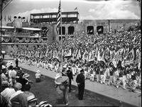 Soap Box Derby; National Contest; 1940; At Akron, Ohio. Tom Fisher, winner.