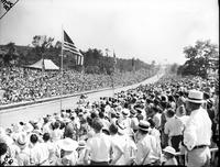Soap Box Derby; National Contest; 1937; At Akron, Ohio. Robert Ballard, winner.