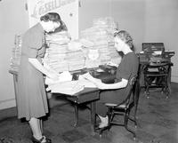 Business; Recovery Plans; Detroit. -Questionaires Sent Out By Crusade for Jobs. -Jeanette Machnics & Blanche Taylor