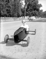 Soap Box Derby; Detroit News Contest; 1950. Contestants