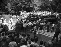 Soap Box Derby; Detroit News Contest; 1950. Crowds