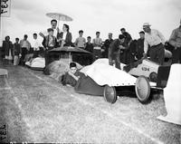 Soap Box Derby; Detroit News Contest; 1950. John Valenti, Winner