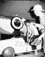 Soap Box Derby; Detroit News Contest; 1949. Inspection