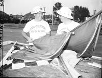 Soap Box Derby; Detroit News Contest; 1949. Officials