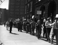 Strikes; Street Railway; Detroit; 1941 .