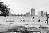 Belle Isle; Bathing Beach