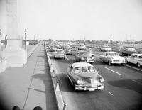 Belle Isle; Bridge; Showing Traffic.