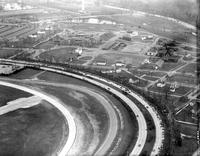 Aerial; Ford, Henry; Greenfield Village; Aerial View. Showing old Ford airport.