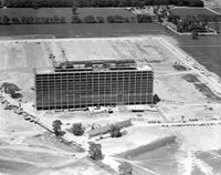 Ford Motor Company; Buildings; Central Office Building; Aerial Views.