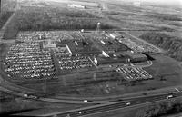 Ford Motor Company; Plants; Highland Park; Air view; Aerial.