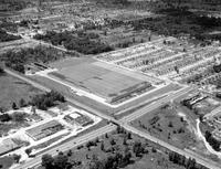 Ford Motor Company; Plants; Lincoln-Mercury Parts On Telegraph Road; Air View; Aerial; Co.