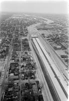 Detroit; Streets; Chrysler Expressway; Under Construction; Aerial. Hamtramck Area. and North of Area.