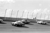 Automobiles; Races; Michigan International Speedway. -Motor State 500 Mile Stock Car Race
