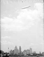 Aero; Dirigibles; Macon in Detroit.