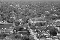 Aerials; Detroit; East Side; Area North of Belle Isle.