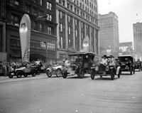 Automobiles; History; Detroit; Jubilee. Parade