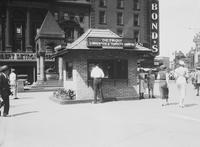 Convention & Tourist Bureau. History. Detroit . at Cadillac Square.