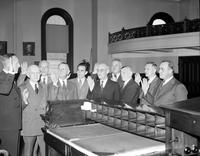 council; Detroit City. Thos. D. Leadbetter, John C. Lodge, Henry S. Sweeney, Frank Cody, George Edwards, William A. Comstock, Eugene I. Van Entwerp, Cahs. E. Dorais, William Rogell ^ Fred  C. Oastrator