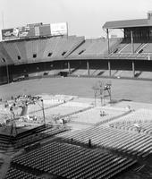 Boxing; Detroit; Briggs Stadium; Showing Seats.