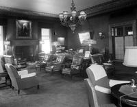Detroit Athletic Club. interior . reading room.