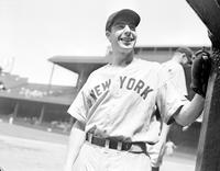 DiMaggio, Joe. Baseball. New York Yankees.