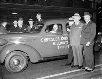Chrysler, Walter P. ; Groups. With Groups of officials & K. T. Keller.
