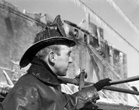 Fire Department; Members. Edward Riley; Fire at Western Auto Supply
