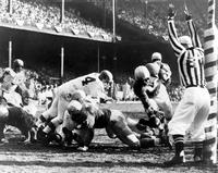 Football; Detroit Lions; Action 1957. -Vs Cleveland