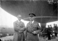 Ford, Henry; At Bennett Balloon Races; With General Patrick