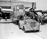 Ford Motor Co. ; Plants; Willow Run. Last bombers to leave the line.