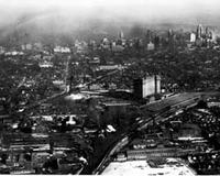 Aerial; Detroit; Buildings; Railroad Stations; Michigan Central.