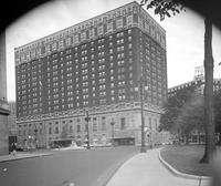 Statler Hilton. Later became the Heritage  Hotel and the Detroit Hilton