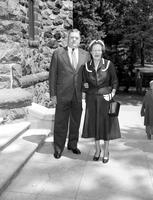 Keller, K. T. ; President Chrysler Corporation & wife. with son, Rick & grandson, Rick Jr.