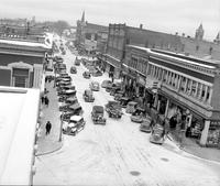 Michigan; Cities; Alpena. Second street. 2nd street looking North