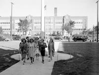 Michigan; Cities; Grosse Pointe; Residences. Grosse Pointe High School. Breaking ground . Chas. A. Poupard, Chas. A. Parcells & W. E. Nordberg